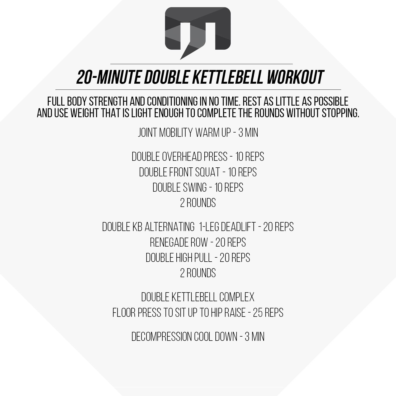 20 Minute Full Body Kettlebell Shred