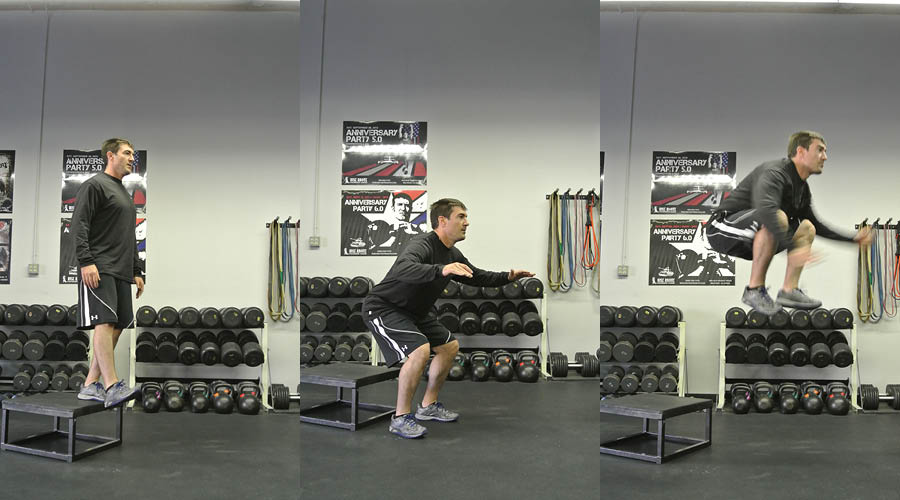 Plyometric Exercise: Depth Drops to Jump