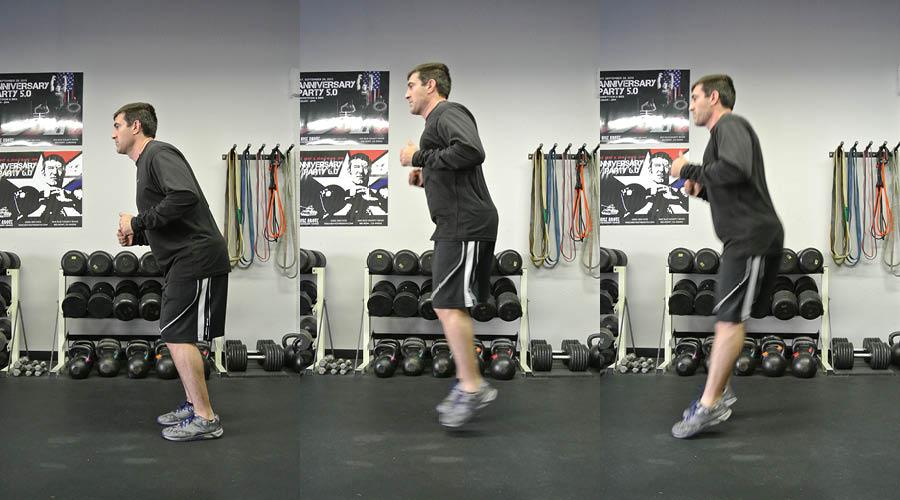 Plyometric Exercises: Forward/Back Hops