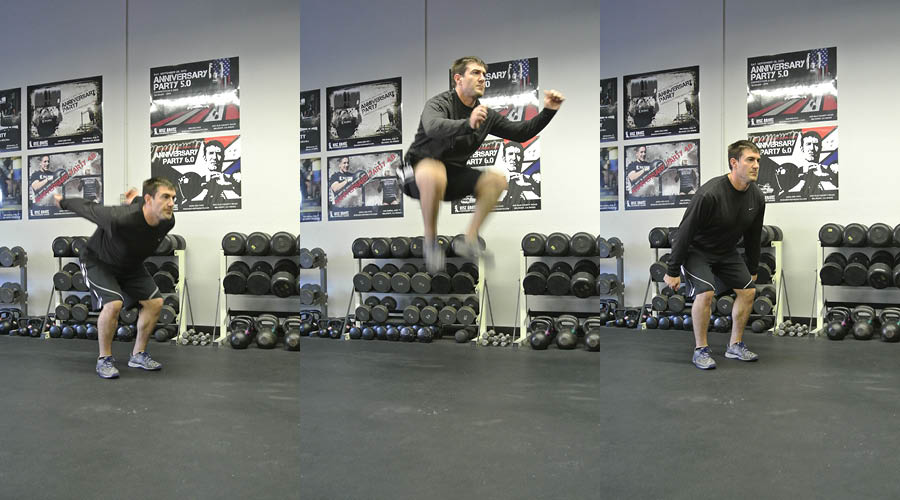 Plyometric Exercise: Knee Tuck Jumps