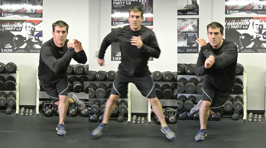 Plyometric Exercises: Speed Skaters