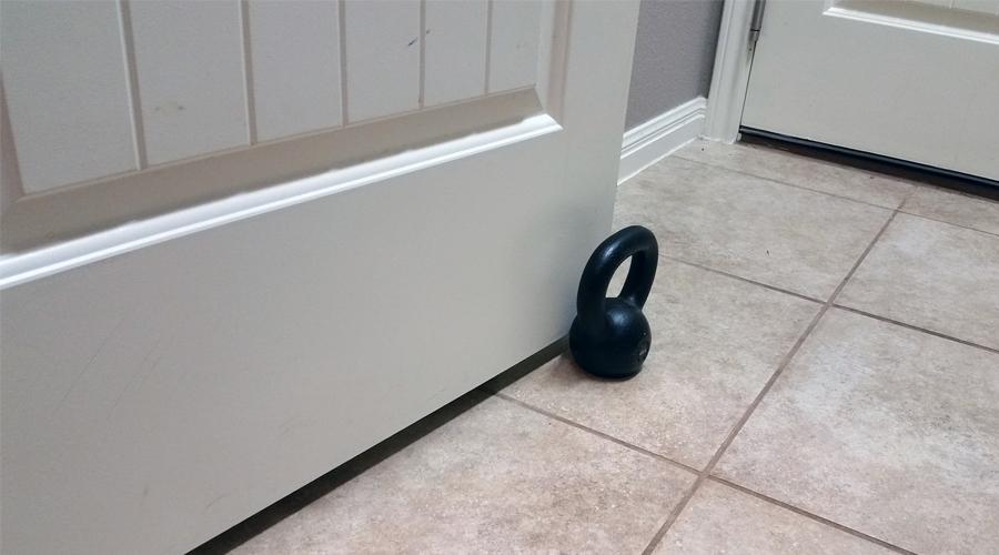 4kg Kettlebell Doorstop