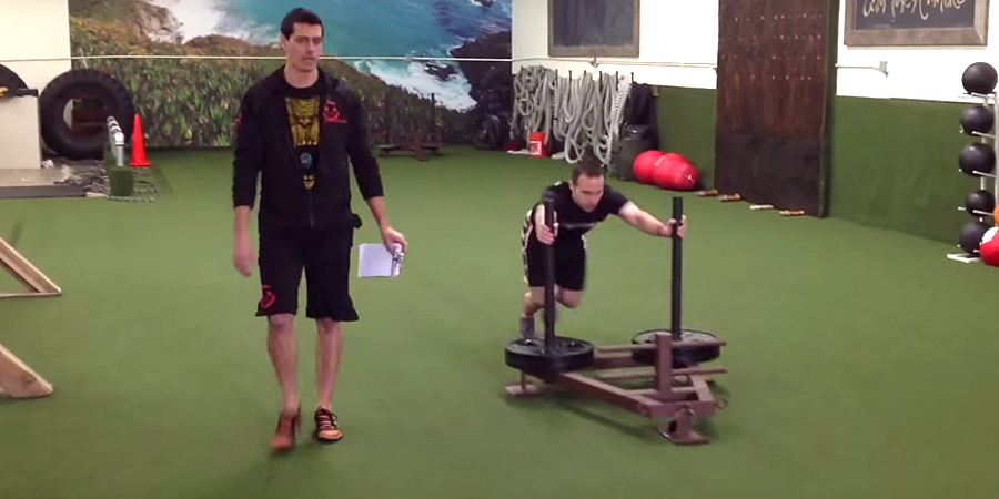 Unconventional Training Challenge Fitness Competition